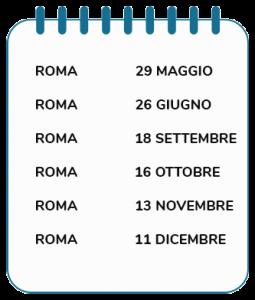 Calendario supervisione