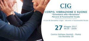 Corso di Funzionalità Vocale Roma