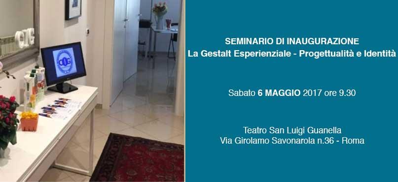 Seminario inaugurazione Roma